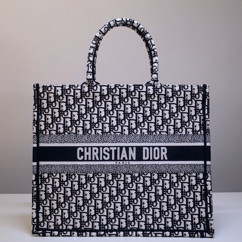 Dior Book Embroidered Canvas Tote Bag M1286ZRKQ-22