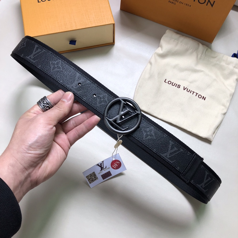 Louis Vuitton LV Circle 40mm Belt M0116Q